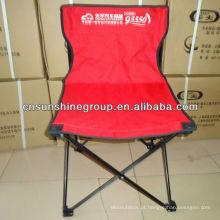 OEM 600D poliéster dobrável cadeira de acampamento ao ar livre