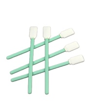 Polyester sterile health cotton alcohol swab for camera