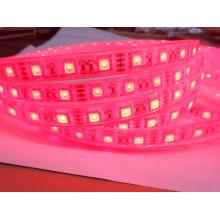 Faixa de LED Epistar IP68 24V única cor-de-rosa à prova d'água 5m LEDs de iluminação 60LEDs por metro