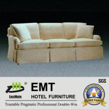 Bankett-Stil Weiß Stoff Sofa Set Hotel Sofa (EMT-SF44)