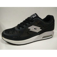 Safety Black Air Cushion Running Shoes for Women