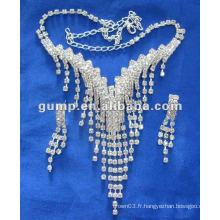 Dernier ensemble de bijoux de mariée (GWJ12-517)