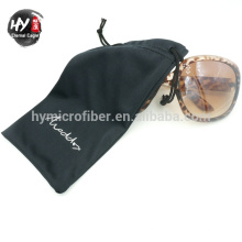 sacs de cordon de microfibre de best-seller, pochette de bijoux de velours, sac de toile de coutume de lunettes de soleil
