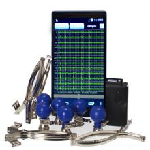 Портативный Wifi регистратор ЭКГ малое оборудование ЭКГ покоя