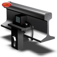 Sensor de roda de estrada de ferro para uso de locomotiva