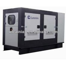 Gerador diesel refrigerado a água de 6 cilindros soundless