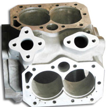CNC auto car parts aluminum die-casting parts for automobile and motorcycle casting parts