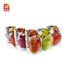 Bolsa de boca de jugo de grado alimenticio reciclable