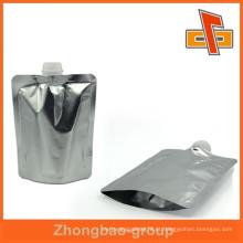 Bico de folha de qualidade superior, saco de bolsa de plástico para bocal até 12 cores de impressão
