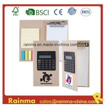 Блокнот с буфером обмена с калькулятором