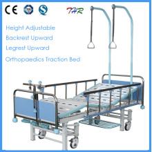 Cama ortopédica manual médica de 3 crank (THR-TB004)