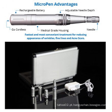 Microneedle terapia recarregável Micro Skin Derma Pen