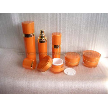 Slanting Round Shape Lotion Bottles