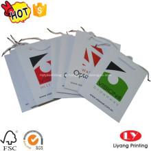 Hot maßgeschneiderte Papierverpackungstasche mit Griff