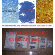 Gel de sílice de alta absorción