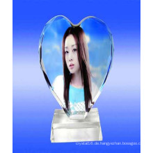 Angepasste Crystal Photo Frame Printing Fotos