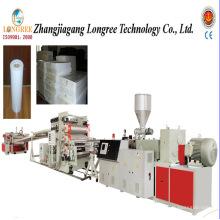 Linha de produção rígida da placa do PVC de 1000mm