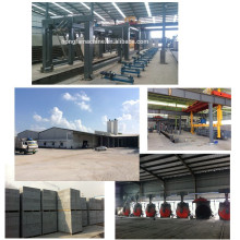 lightweight aac block plant / aerated autoclaved concrete block plants / fully automatic aac plant machines in Indonesia