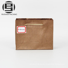 Unique brown craft kraft gift shopping paper bags