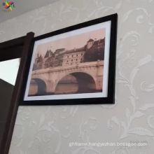 Wall mounted photo frame black A3 photo frame