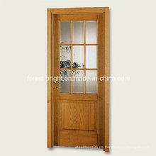 9 Diseño de puerta de vidrio simple de Lite Lite