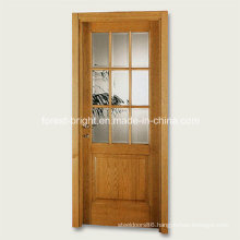 9 Lite Wood Single Glass Door Design