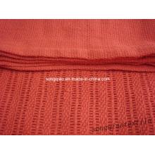 Хлопковое клеточное одеяло