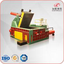 Machine de presse à balles en acier de cuivre en aluminium de ferraille hydraulique