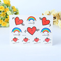 Love Design Promotion Party Decal Customized Self Adhesive Temporary Body Tattoo Sticker