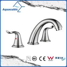 Современная семья СКП Ванная комната широкое умывальник раковина Кран (AF1073-6с)