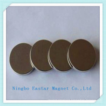 Rare Earth Permanent Disc Magnet with Nickel Plating