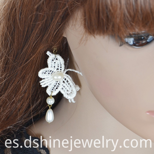 Lace Long Earrings Wholesale