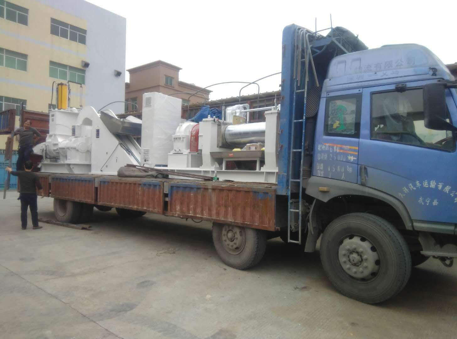 Shipping of Rubber Extruder from China