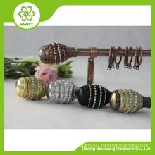 China wholesale custom copper curtain rod