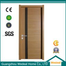 Porta de madeira do MDF da melamina para o projeto com projeto personalizado (WDP2002)