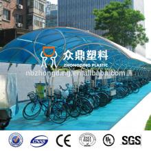 4мм/6мм/8мм/10мм цветные водонепроницаемый поликарбонатный навес