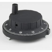 Черный пластиковый маховик MPG для фрезерования с ЧПУ