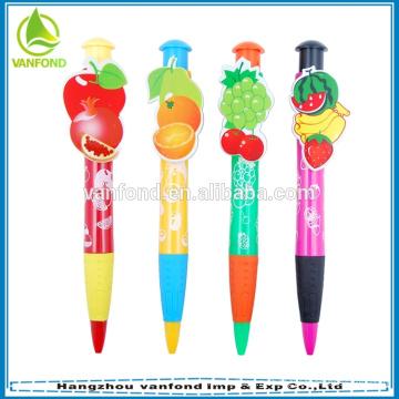 Персонализированные пользовательские нетоксичные мультфильм шариковая ручка для студентов