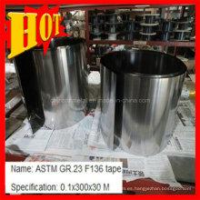 Hoja de titanio ASTM B265 Ti6al4V con el mejor precio