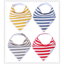 High quality baby bandana drool bibs with snaps baby bibs wholesale baby bandana bibs