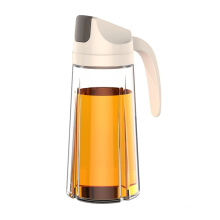 Factory Price Wholesale Empty Vinegar Glass with Spray Pourer Lid Olive Oil Bottle