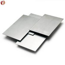 Placa de titanio médica ASTM F67 Gr2 para uso quirúrgico