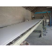 Производство доски ПВХ линия шкафа - деревянная пластичная линия штранг-прессования двери машины