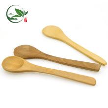Super beliebte maßgeschneiderte Logo Matcha Scoop Factory Direct Großhandel sicher natürliche Matcha Bambus Löffel