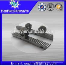 Engrenagem helicoidal de aço M2.5 com suporte