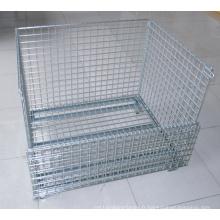 Conteneur de cage de stockage en treillis métallique
