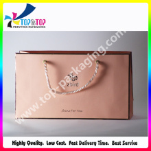 Luxury Gift Packaging Kraft Paper Handle Bag