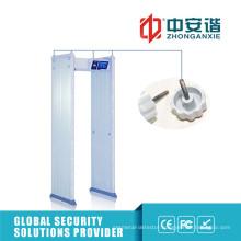 100 Security Levels Sound Alarm Outdoor Waterproof Metal Detector for Exhibition