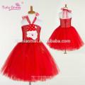 Filles Tutu Robe Tulle Fée Princesse Robe rouge Cosplay Halloween Party Costume Enfants Belle Fée Robes