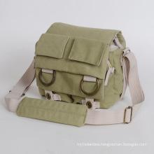 Canvas DSLR Camera Shoulder Bag